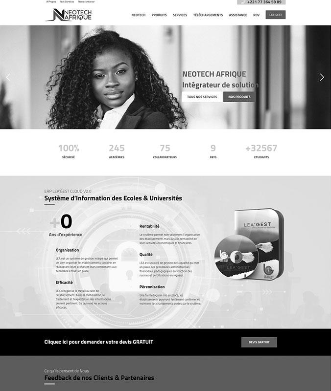 Neotech Afrique – Intégrateur de Solutions