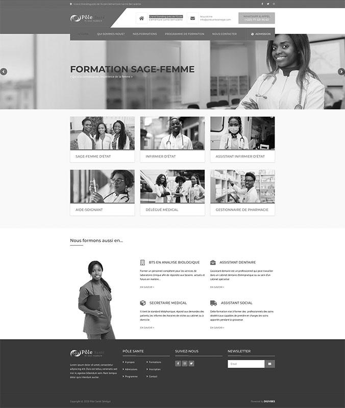 POLE SANTE – Ecole de formation professionnelle en santé
