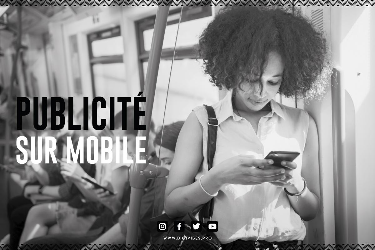 publicité sur mobile Dakar Sénégal