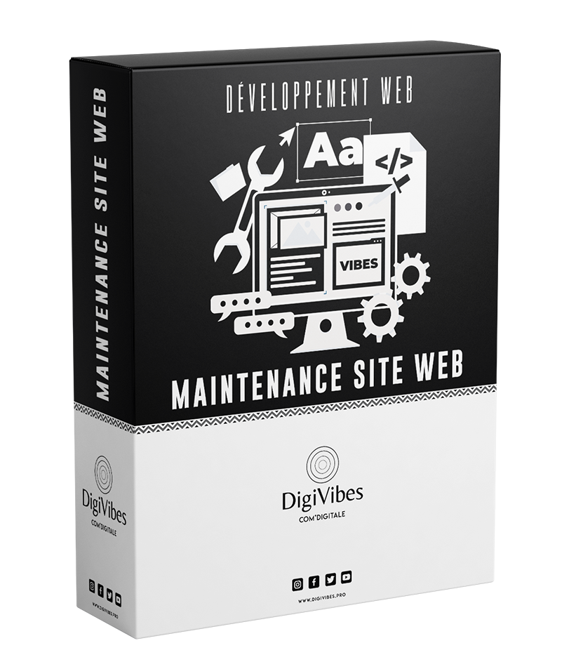 PACK MAINTENANCE DE SITE WEB
