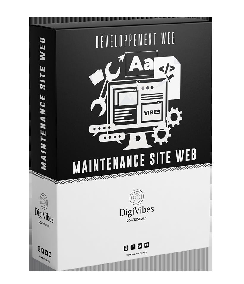 PACK MAINTENANCE DE SITE WEB