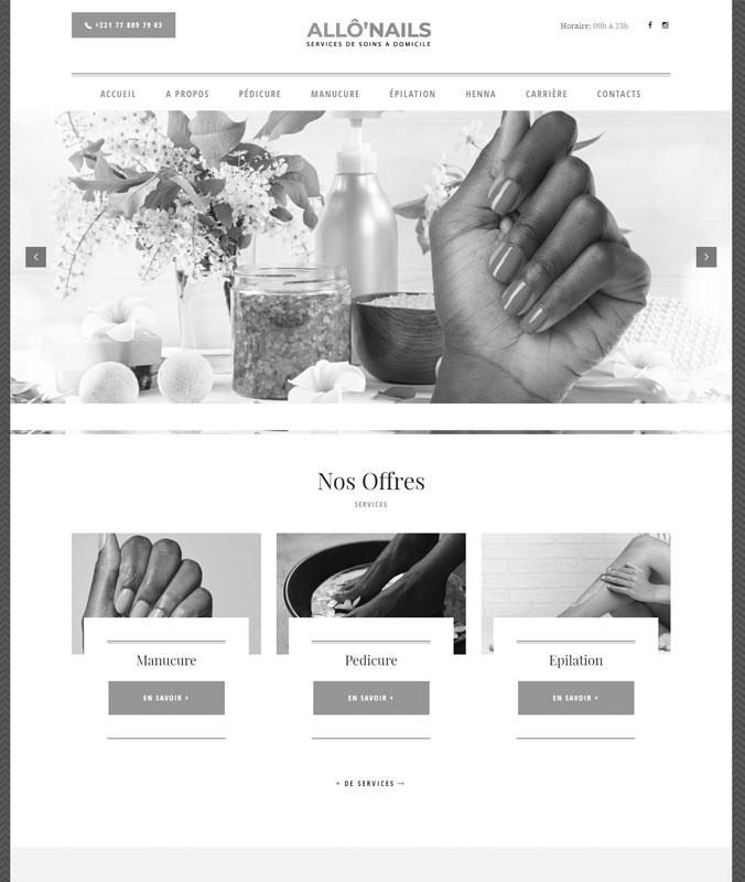 Allô'Nails Services de soins à domicile